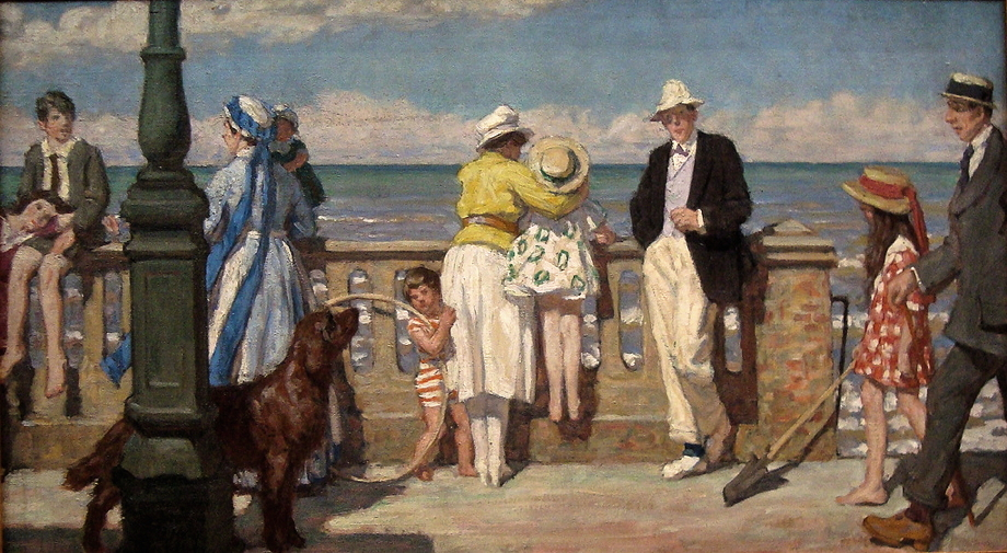 La Digue de Cabourg, 1925